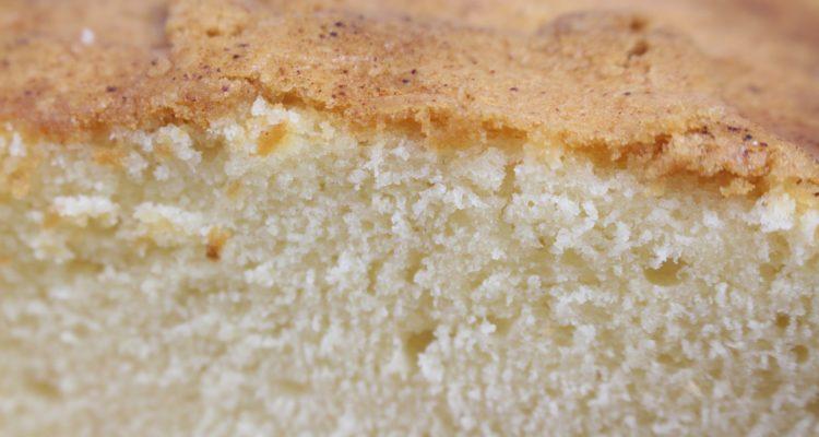 piskóta sütése